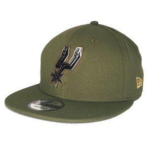 San Antonio Spurs Metal Badge Army Snapback Hat